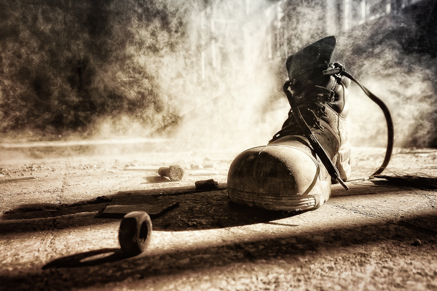 Photograph Old Shoe by S. Wickenkamp on 500px