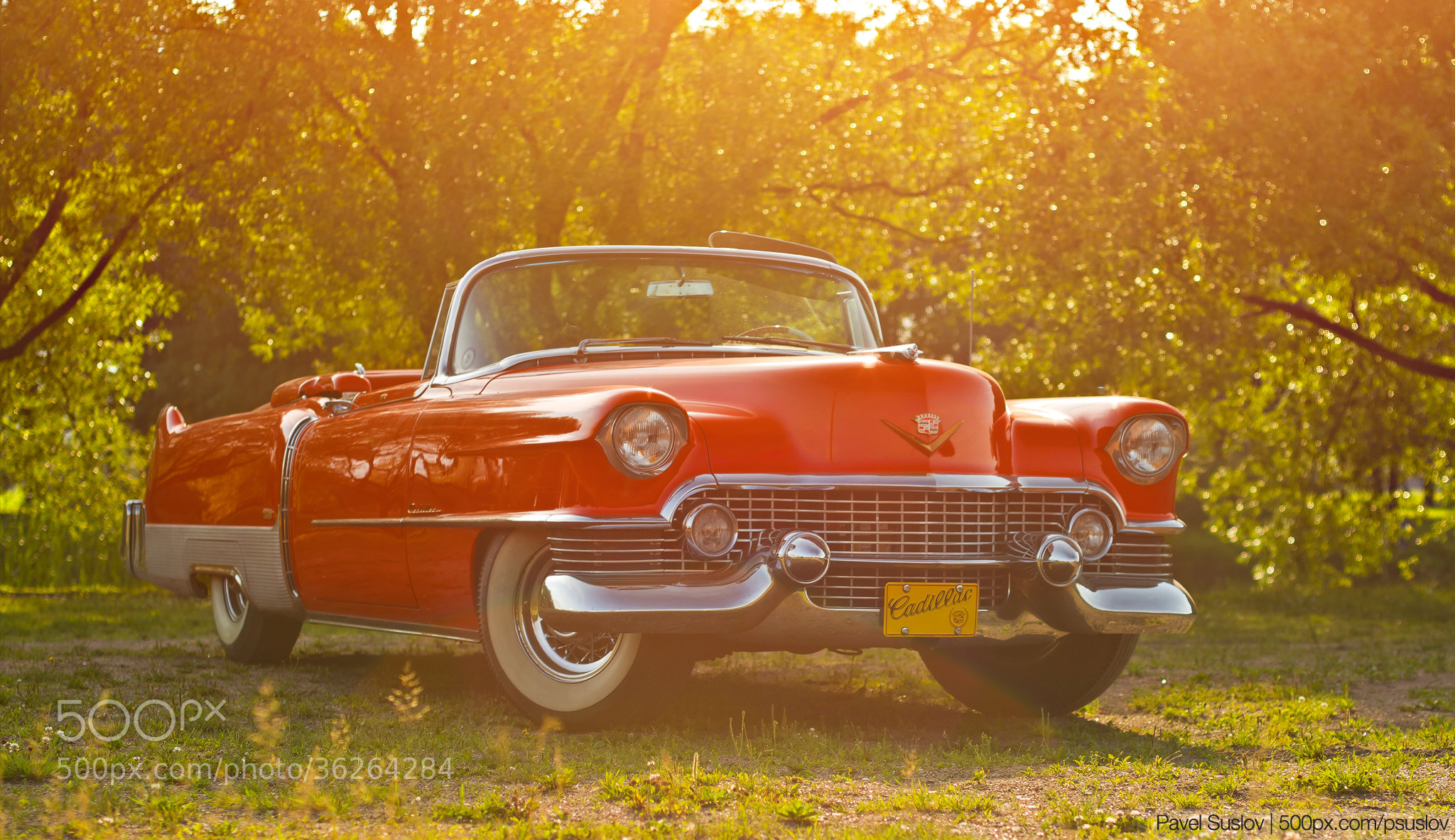 Photograph Cadillac Eldorado 1954 by Pavel Suslov on 500px