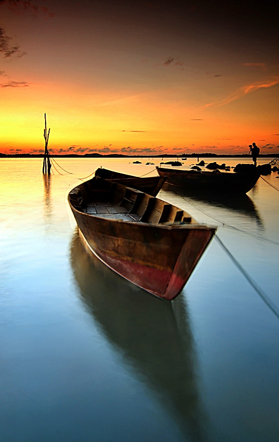 Photograph 1st Sunrise at June 2013 by Iman Hanggi on 500px