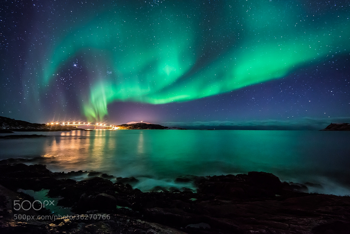Photograph Sommaroy's bridge by Joris Kiredjian on 500px