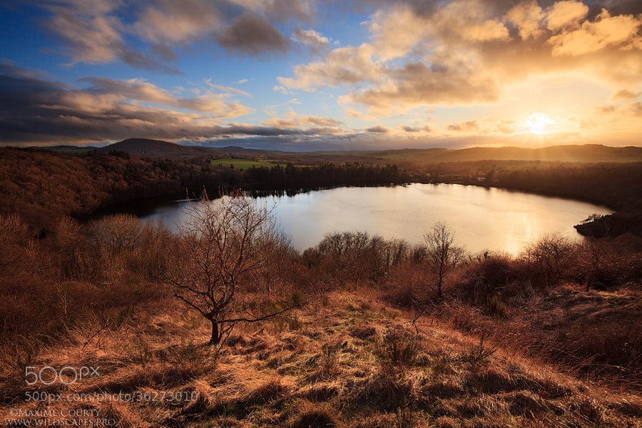 Photograph Above the Lake by Maxime Courty on 500px