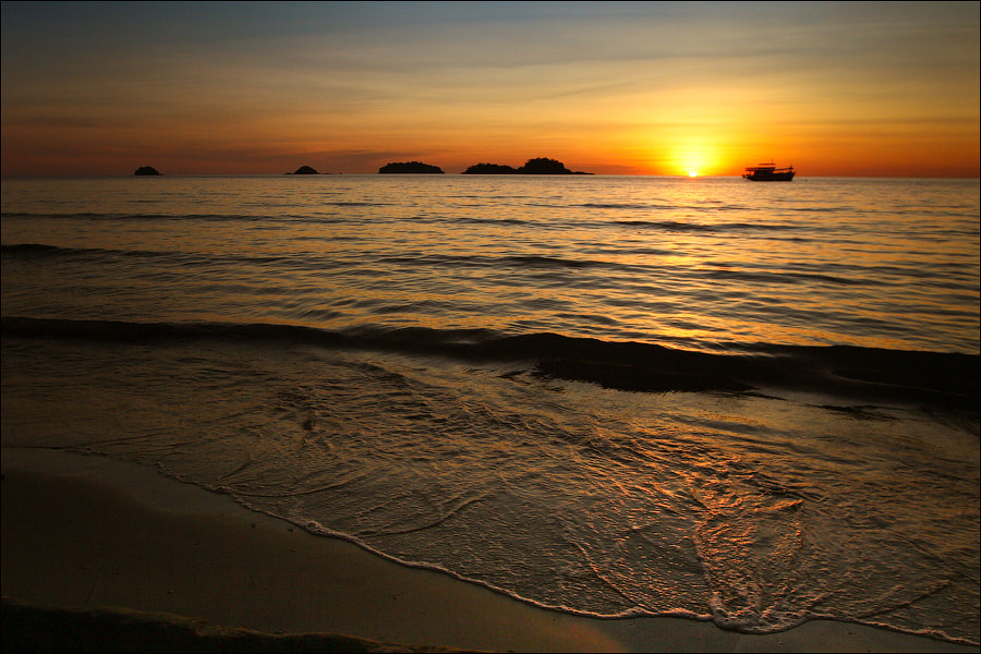 Photograph Sunset on the Gulf of Siam by Dmitry Berkut on 500px