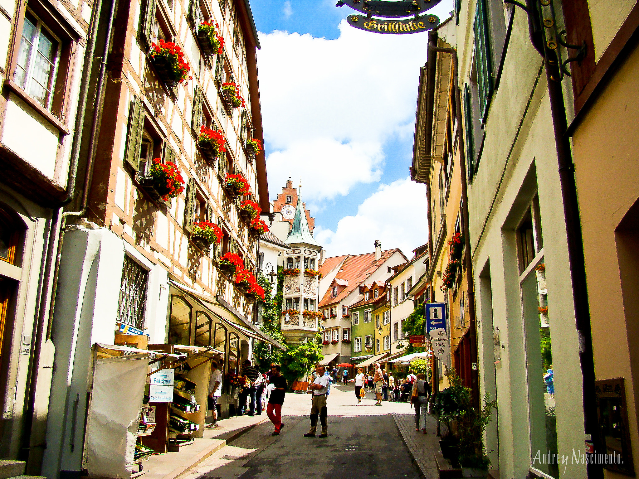 Photograph Meersburg Colorful Street by Andrey Nascimento on 500px