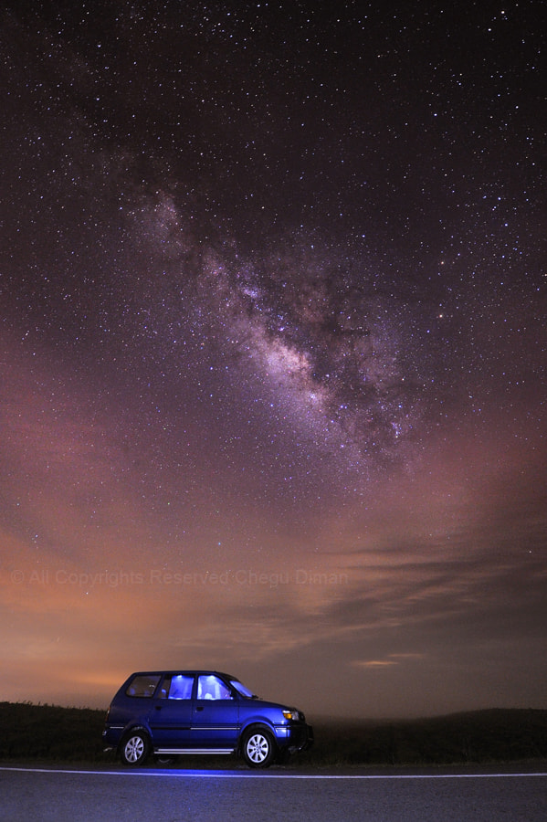Photograph Milky Way V by chegu diman on 500px
