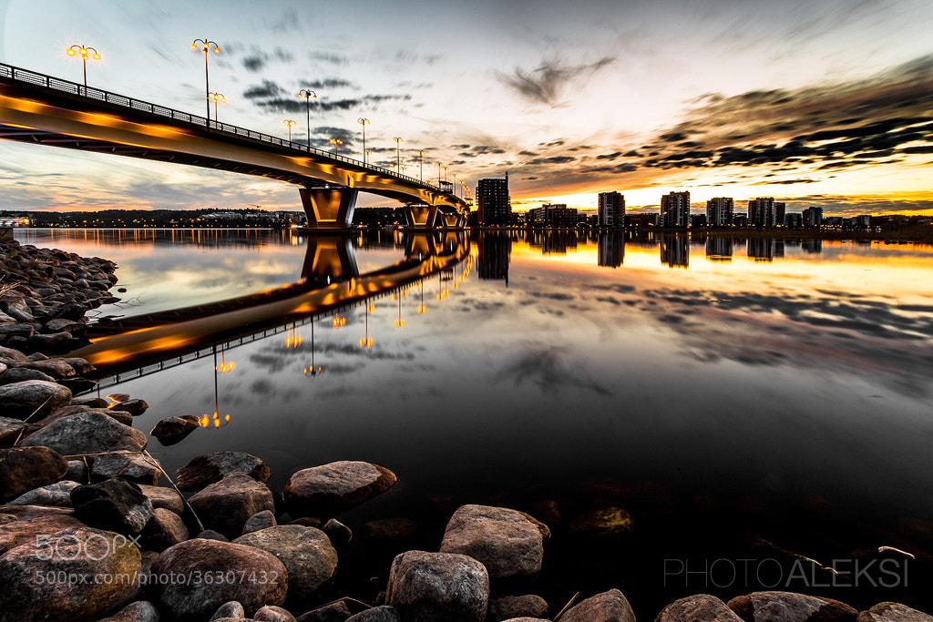 Photograph Jyväskylä evening by Aleksi Hämäläinen on 500px