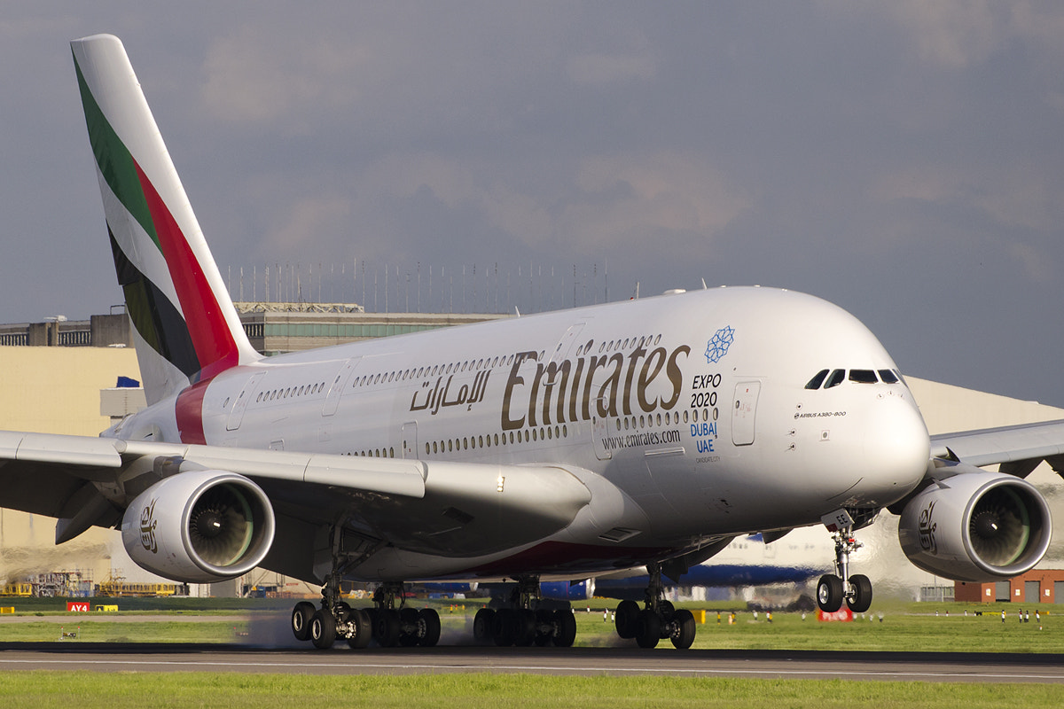 Photograph Emirates A380 by Adrian Williams on 500px