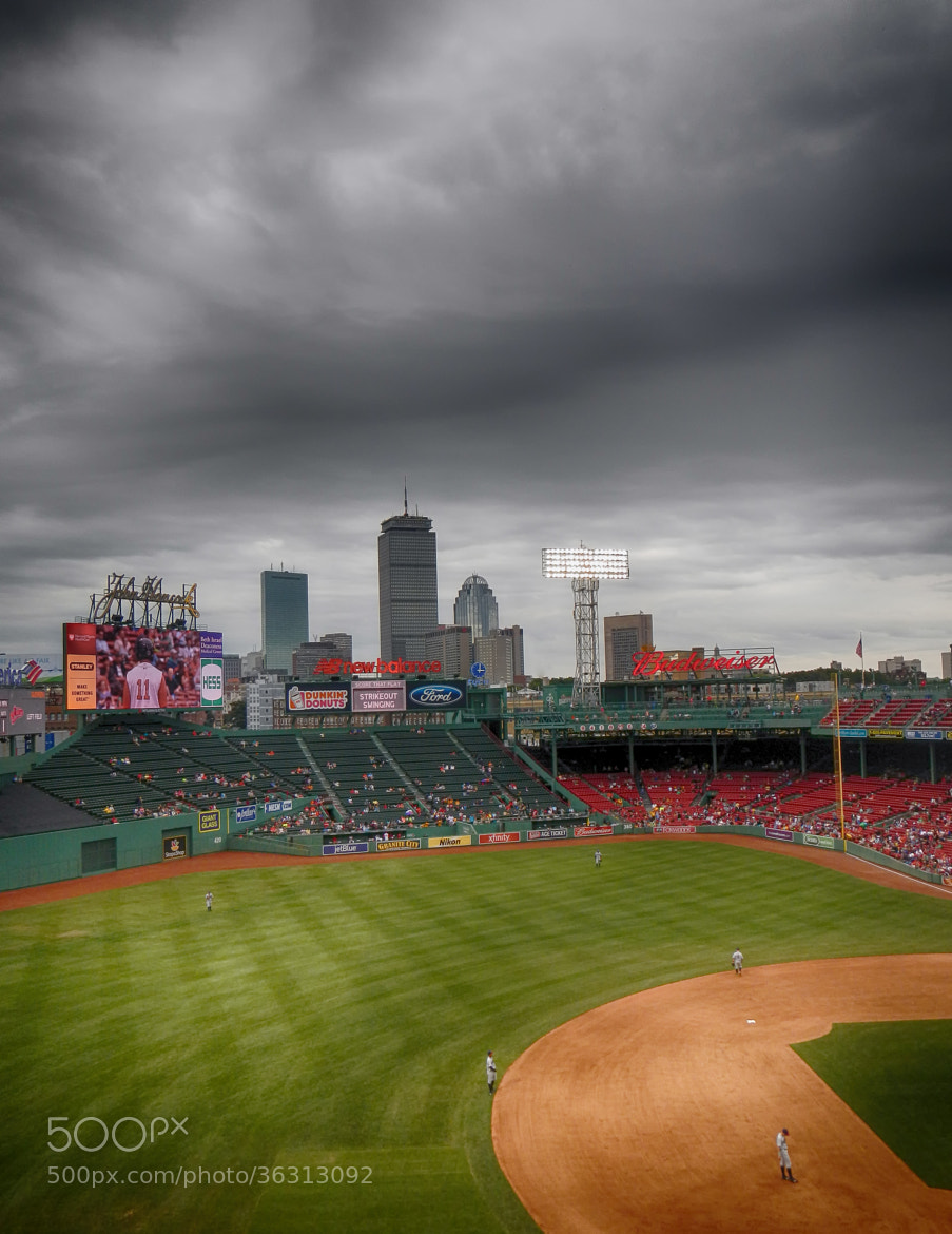 Photograph Fenway HDR by Matthew Stoeckle on 500px