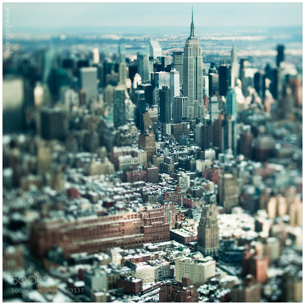 Photograph Manhattan Miniature by Maria Netsounski on 500px