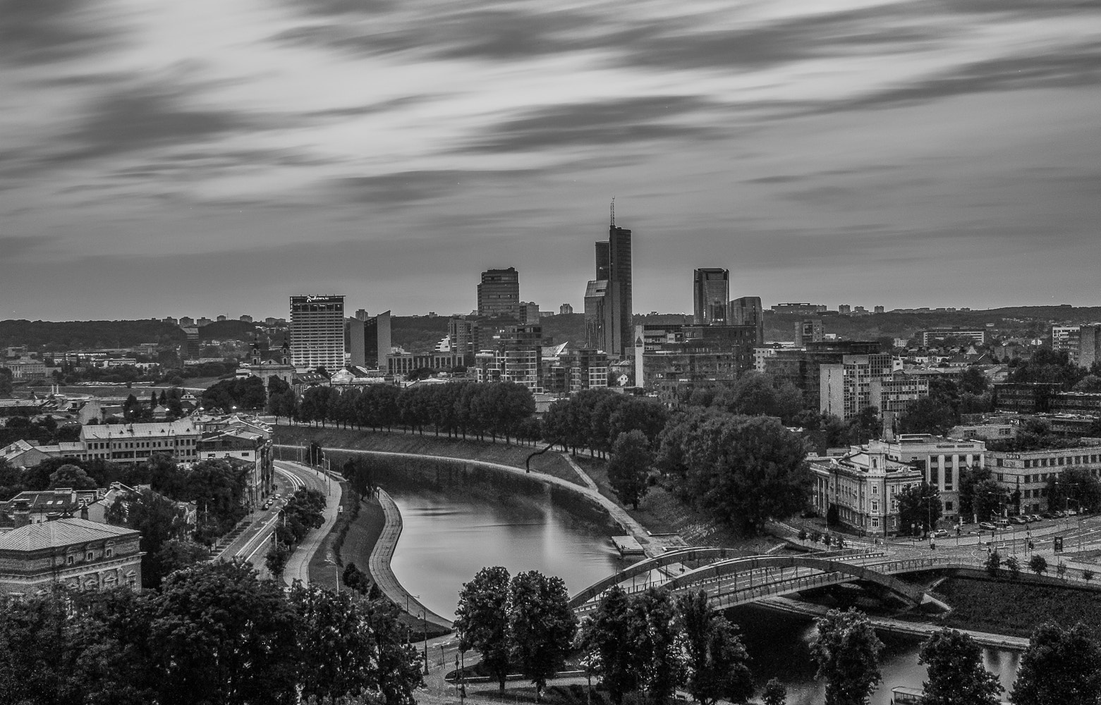 Photograph Windy Vilnius by Norbert Durko on 500px