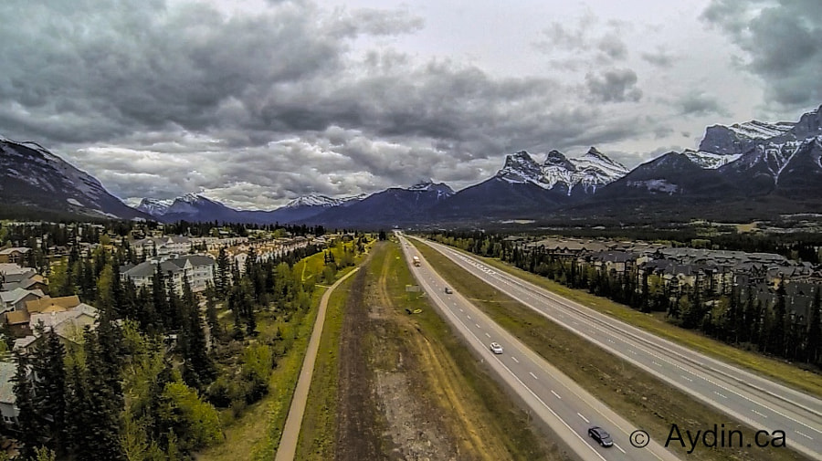 Canmore sky view