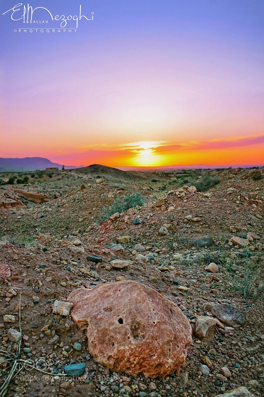 Photograph Sunset by AbdallaH ElmezOghi on 500px