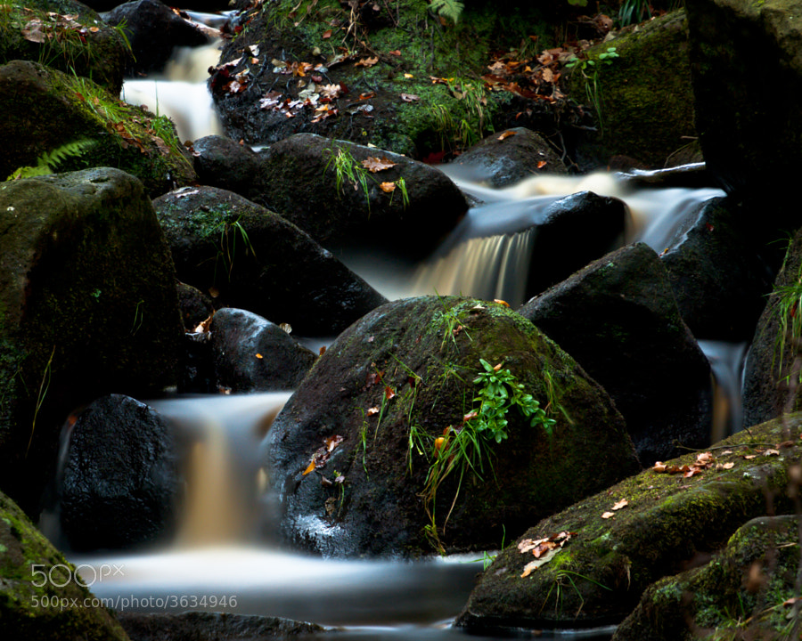 long Exposure in Padley Gorge