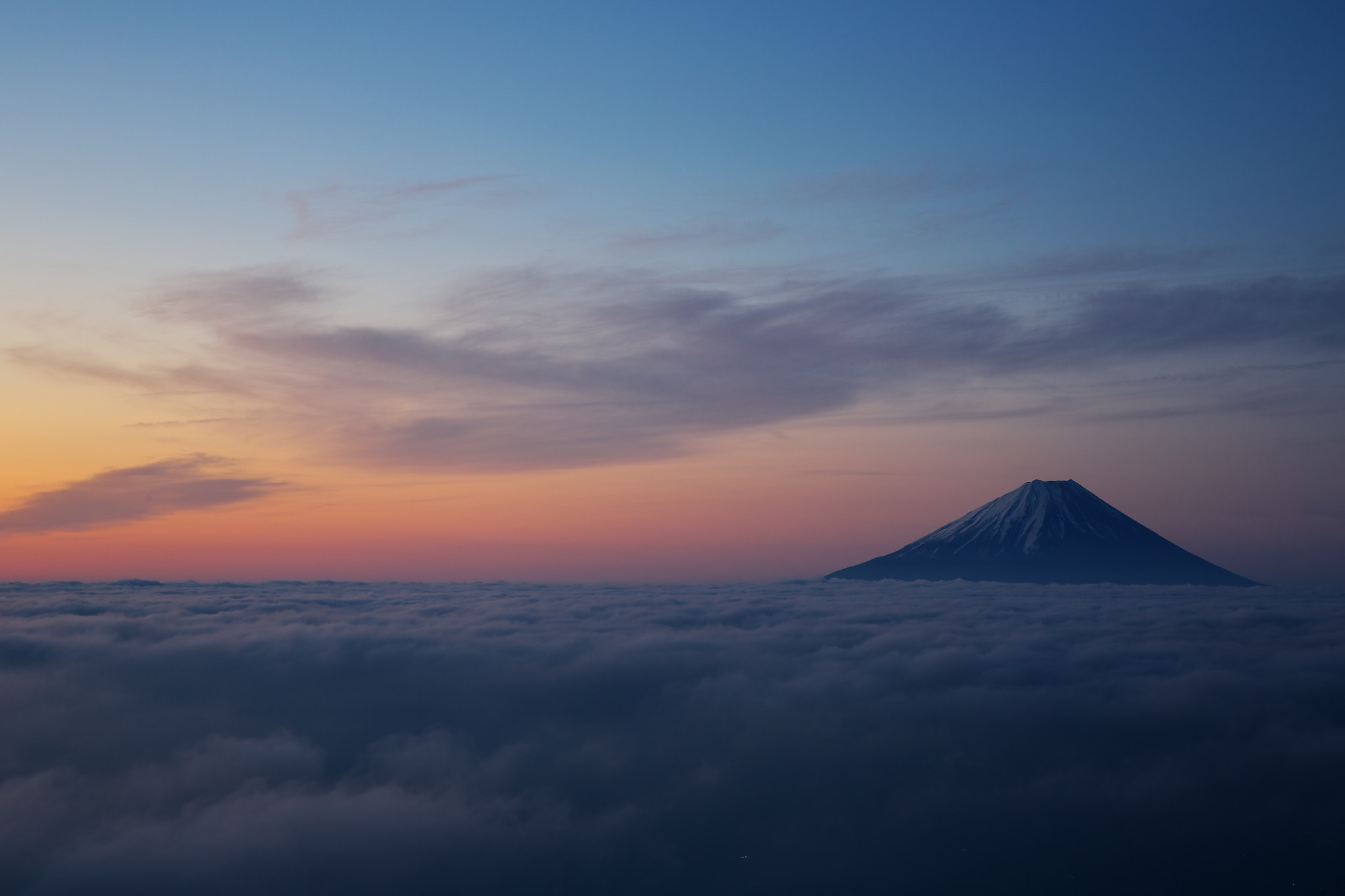 Photograph Fuji & another clouds by Shinichi Osa on 500px