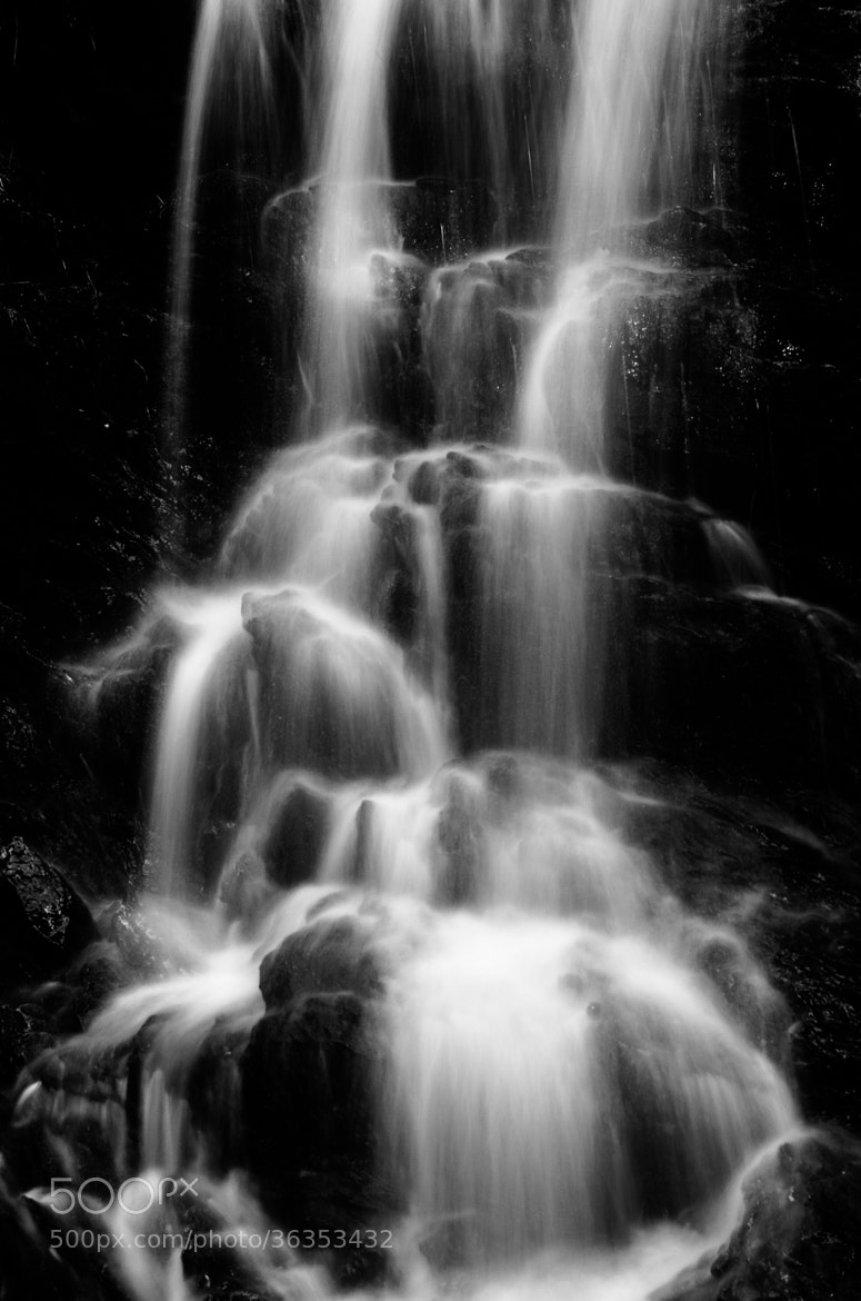Photograph B&W Waterfall by Kolbein Svensson on 500px