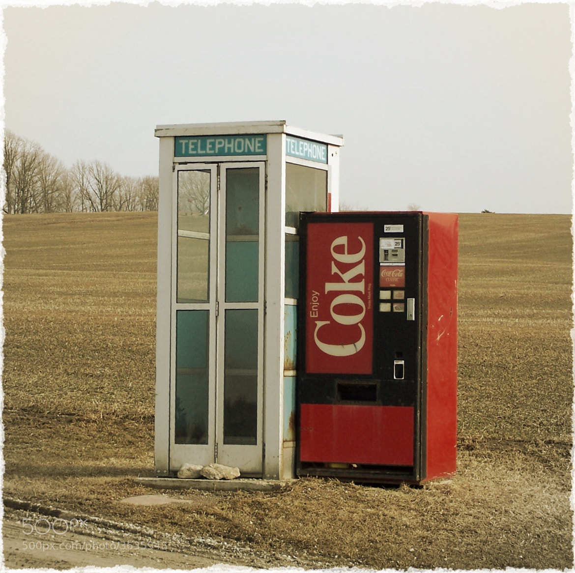 Photograph A call & coke by Alison  Brauda on 500px