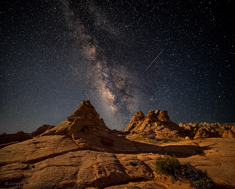 Photograph Under the Stars by John Fan on 500px