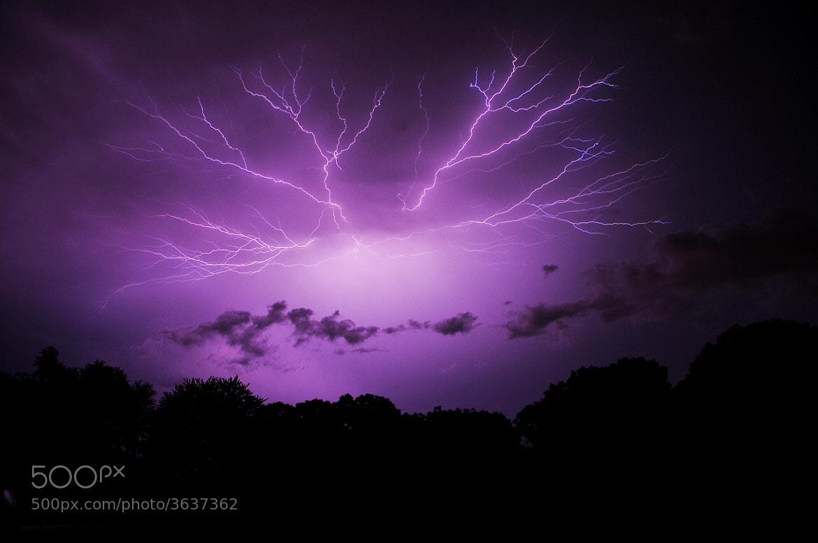 Photograph Cloud to Cloud lightning  by eric bartley on 500px