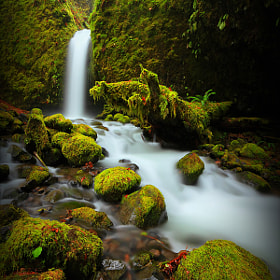 Mossy Grotto Falls I by Tula Top (tulatop)) on 500px.com
