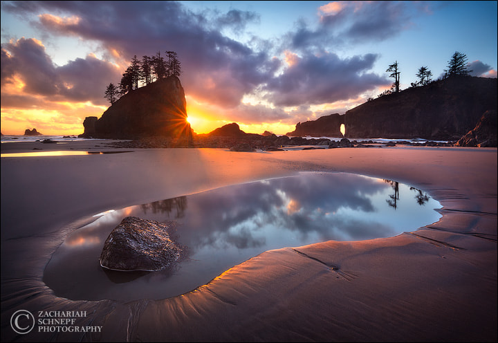 Photograph Second Beach Sunset by Zack Schnepf on 500px