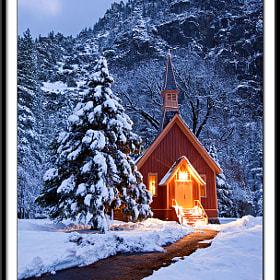 Winter, Yosemite Church by Kevin  Pieper (Kevin_Pieper)) on 500px.com
