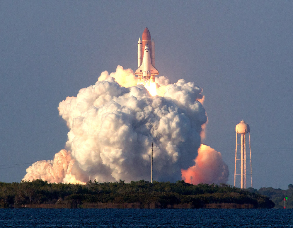 Photograph Liftoff of Discovery by Douglas Lee on 500px