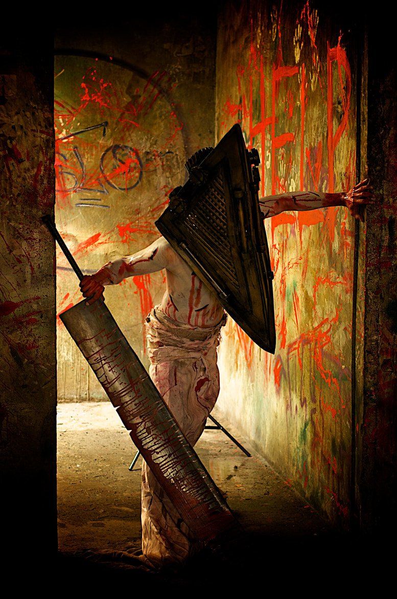 Photograph pyramid head by Eric Banes on 500px