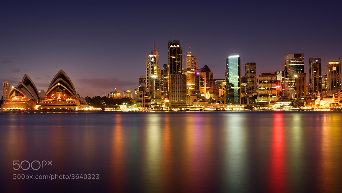 Photograph Sydney's Harbour Skyline by Noval Nugraha on 500px
