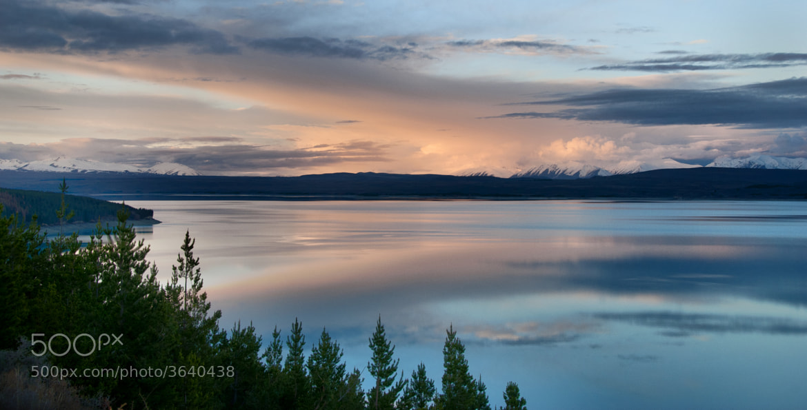 Photograph Lake Pukaki Colours by Nathan Kaso on 500px