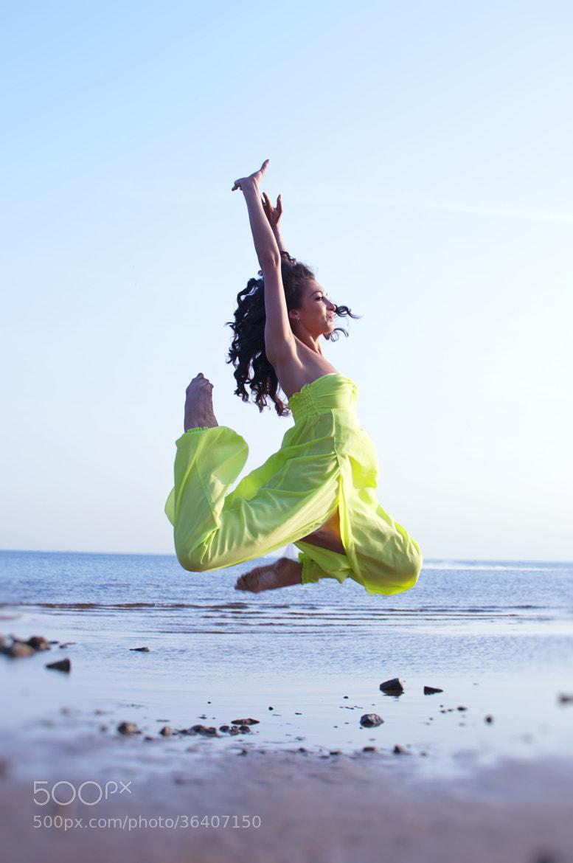 Photograph Jump like no one can by Zhanna Semenova on 500px