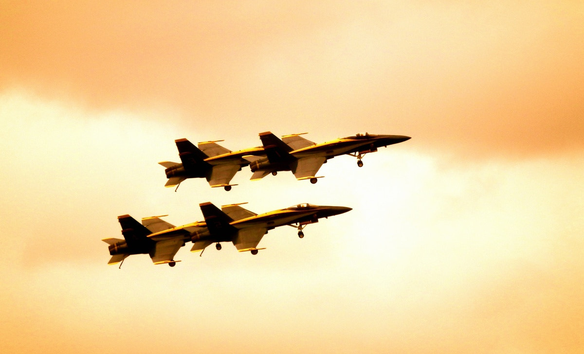 Photograph Blue Angels... by Seenivasan Kumaravel on 500px