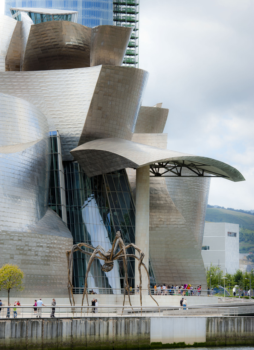 Photograph Museo Guggenhein Bilbao by Goyo  Conde on 500px