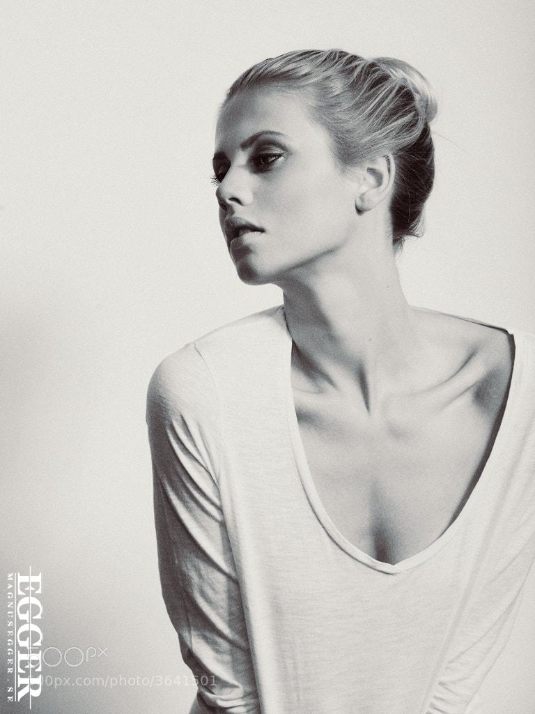 Photograph Kajsa N - Elite Milano by Magnus Egger on 500px