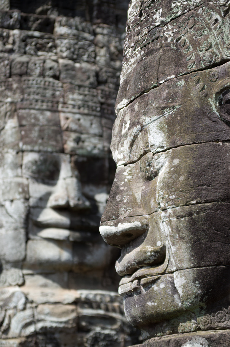Photograph Bayon Faces by Matthew Weinel on 500px