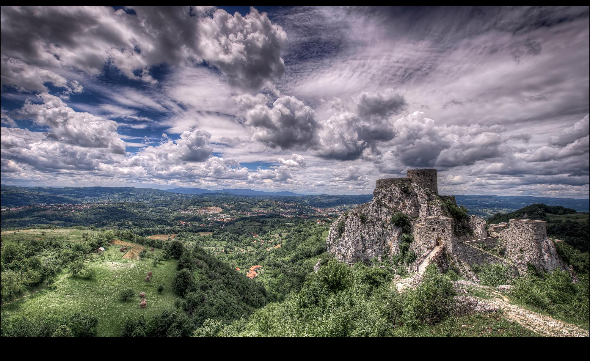 Photograph Srebrenik Castle by Denis Basich on 500px