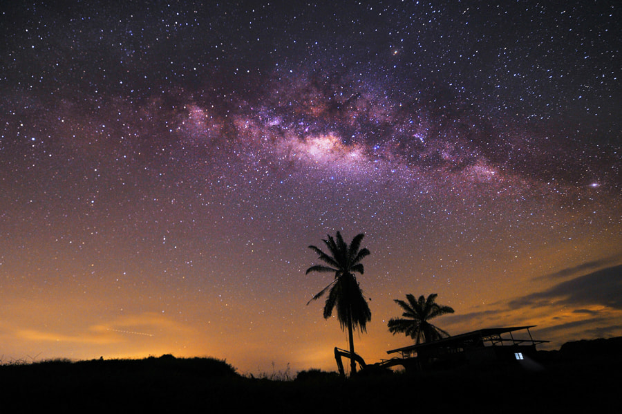 Photograph Milky Way VII by chegu diman on 500px