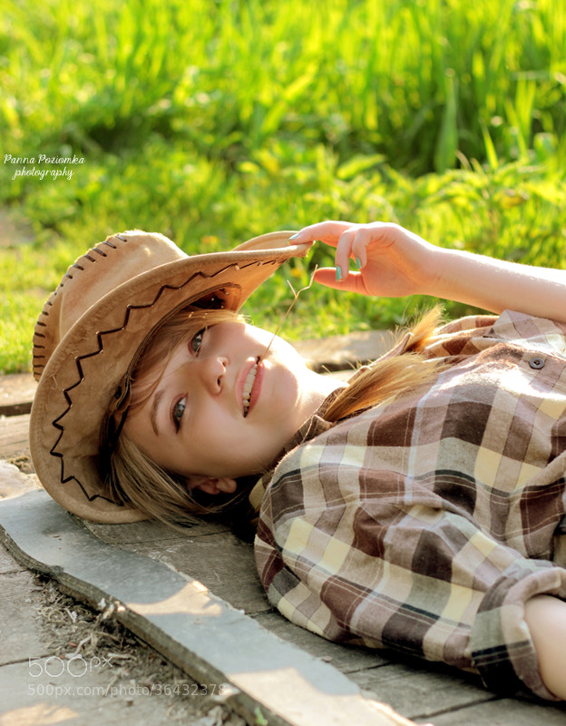Photograph lovely cowgirl ♥ by Jonka  on 500px