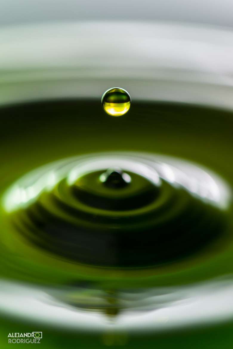 Photograph Water Drop by Alejandro Rodriguez on 500px