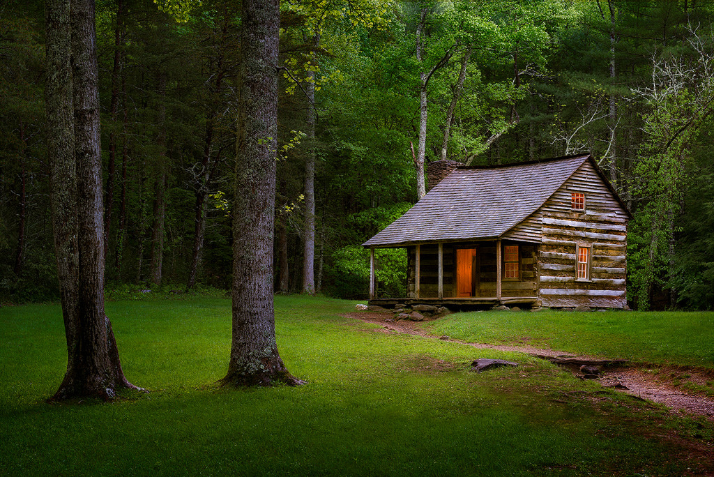 Photograph Carter Shields Cabin by Steve Perry on 500px