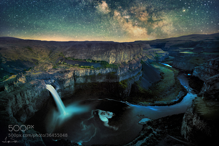 Palouse Falls by Leif Smith on 500px.com