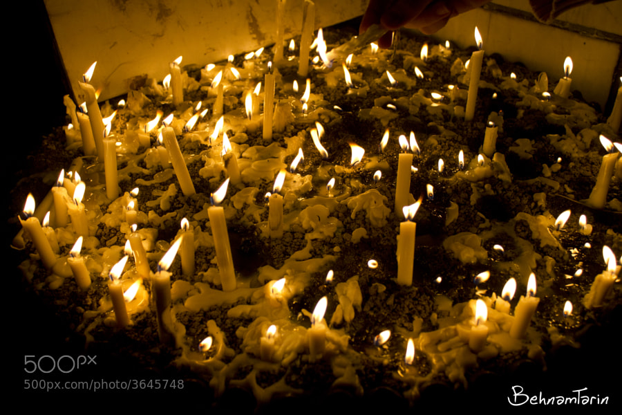 Candle by behnam tarin (behnamtarin) on 500px.com