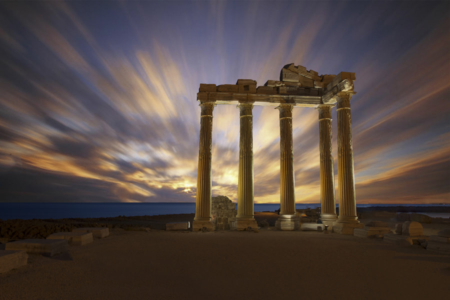 Photograph Temple of Apollon. SIDE / ANTALYA by Necat ÇETİN on 500px