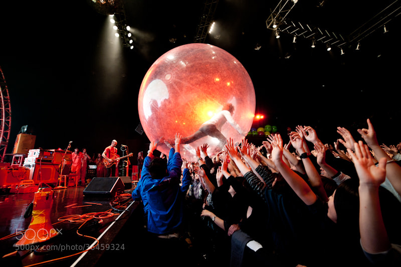 Photograph The Flaming Lips by Matthias Hombauer on 500px