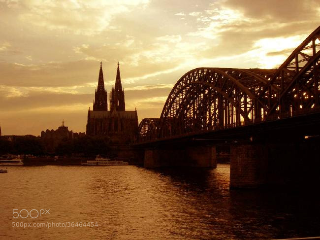 Photograph The Hohenzollern Bridge by Son of the Morning Light on 500px