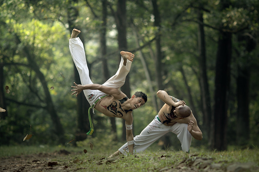 Photograph capoeira by asit  on 500px