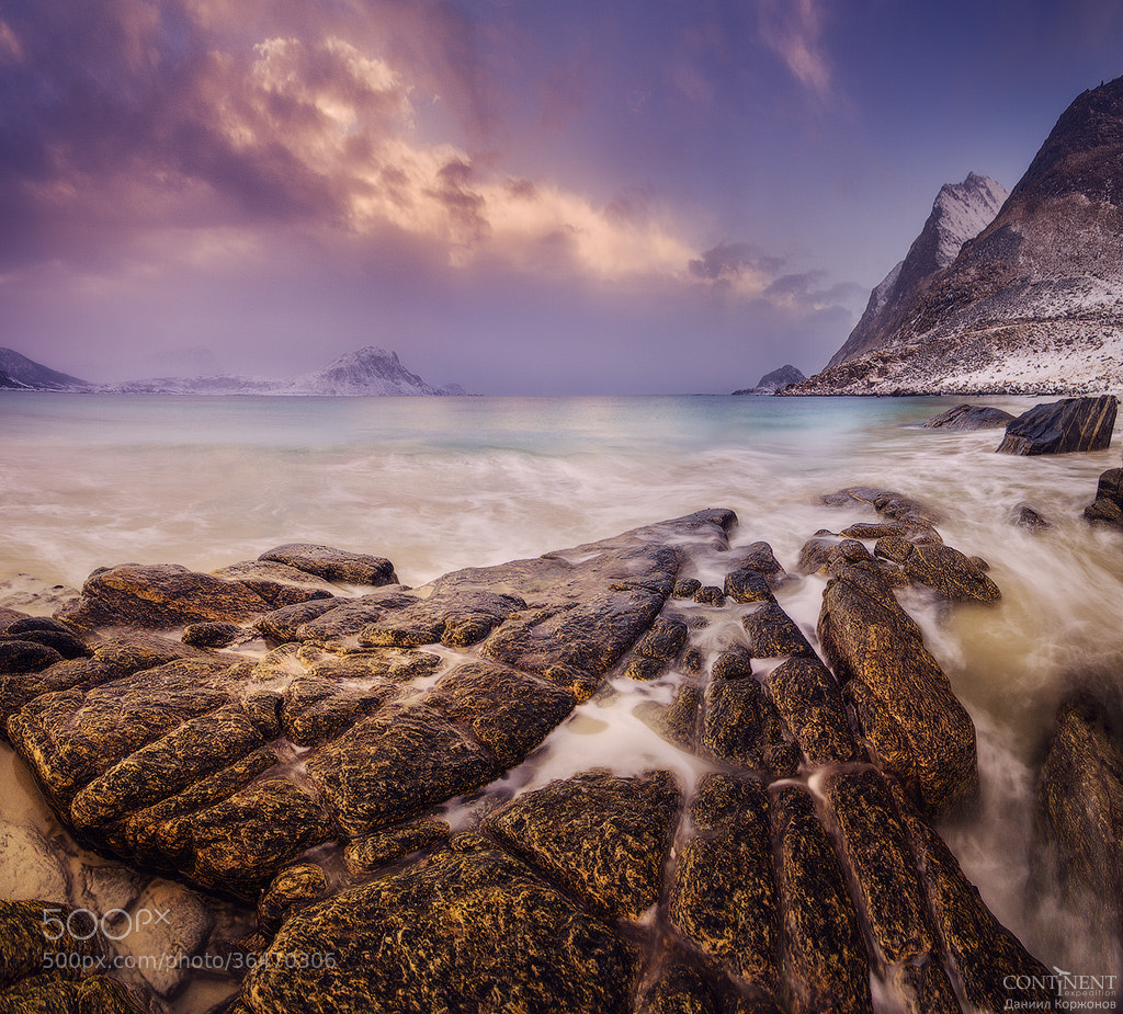 Photograph Golden shore by Daniel Korzhonov on 500px