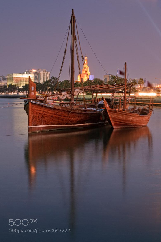 Photograph Doha City by Helminadia Ranford on 500px