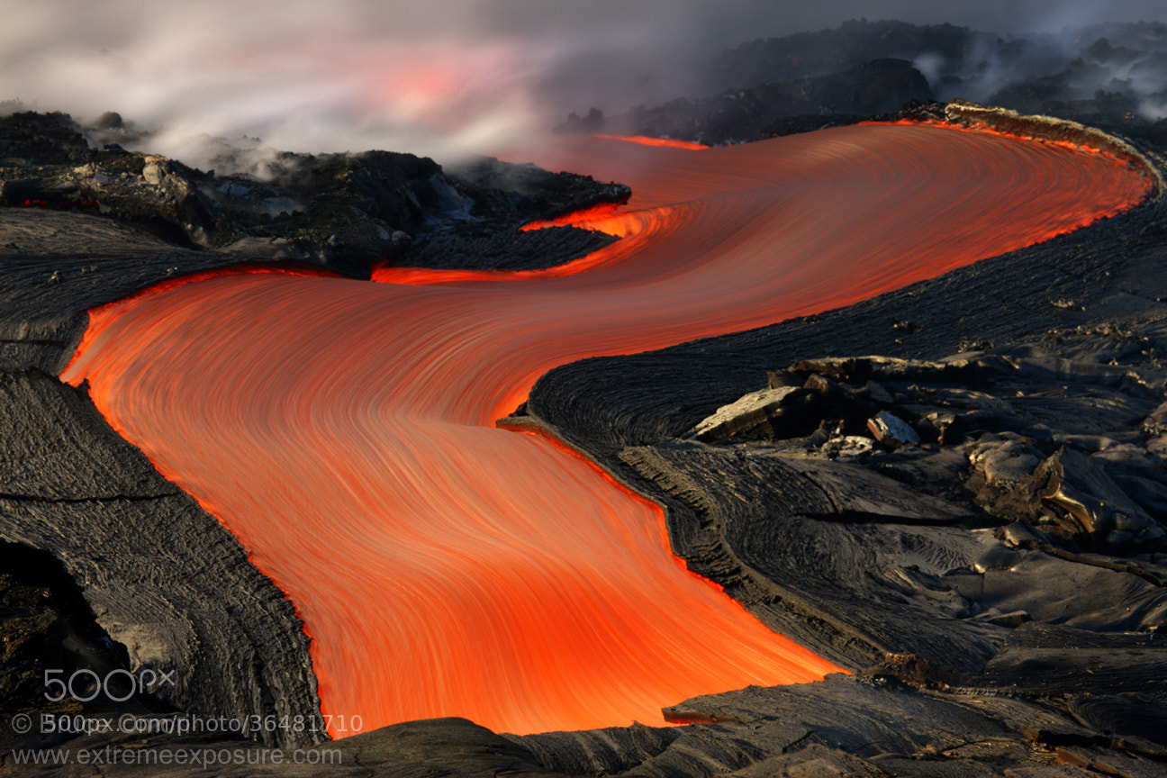Photograph The Red Road by Bruce Omori on 500px