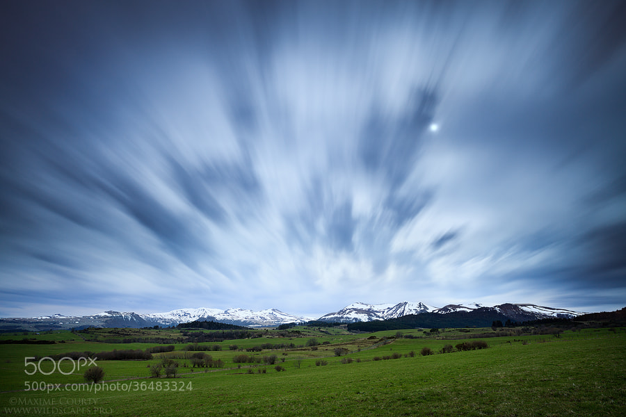 Photograph Passing Clouds by Maxime Courty on 500px