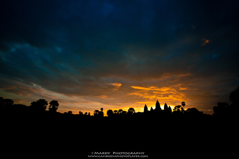 Photograph Stunning Sunrise at Angkor Wat! by Mardy Suong Photography on 500px