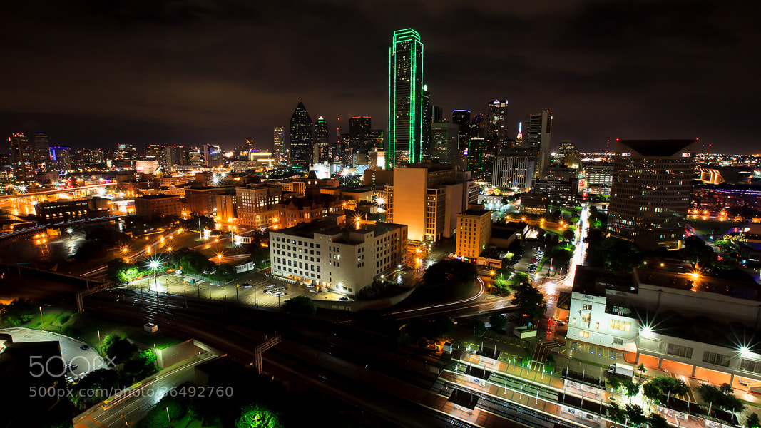 Photograph Dallas at Night by Manny  Estrella on 500px